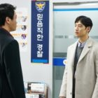 """Tension Erupts Between Lee Je Hoon And Lee Sung Wook In A Police Station On """"Where Stars Land"""""""