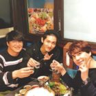 TVXQ's Changmin Enjoys The Company Of Super Junior's Kyuhyun And Sung Si Kyung