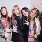 (G)I-DLE's Yuqi And Minnie, CLC's Sorn, And Im Soo Hyang Meet Up With BLACKPINK At Their Concert
