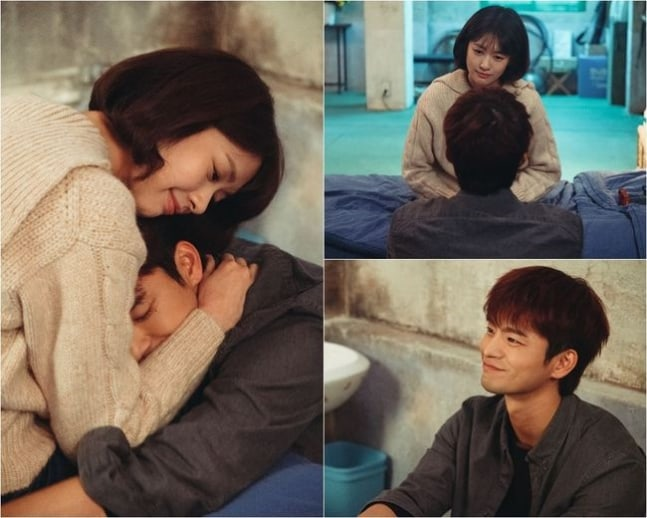 "Jung So Min And Seo In Guk Hold Each Other Tight In ""The Smile Has Left Your Eyes"""