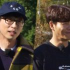 "Yoo Jae Suk To Sincerely Question Kim Jong Kook's Fashion Choices In ""Running Man"""