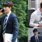 """Yoon Hyun Min Shows His Softer Side In Behind-The-Scenes Photos From """"Mama Fairy And The Woodcutter"""""""