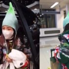 Sandara Park Pokes Fun At Her Own Eye-Catching Airport Fashion