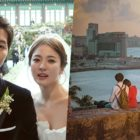 """Song Joong Ki's Father Shows Support For Song Hye Kyo's Drama """"Encounter"""""""