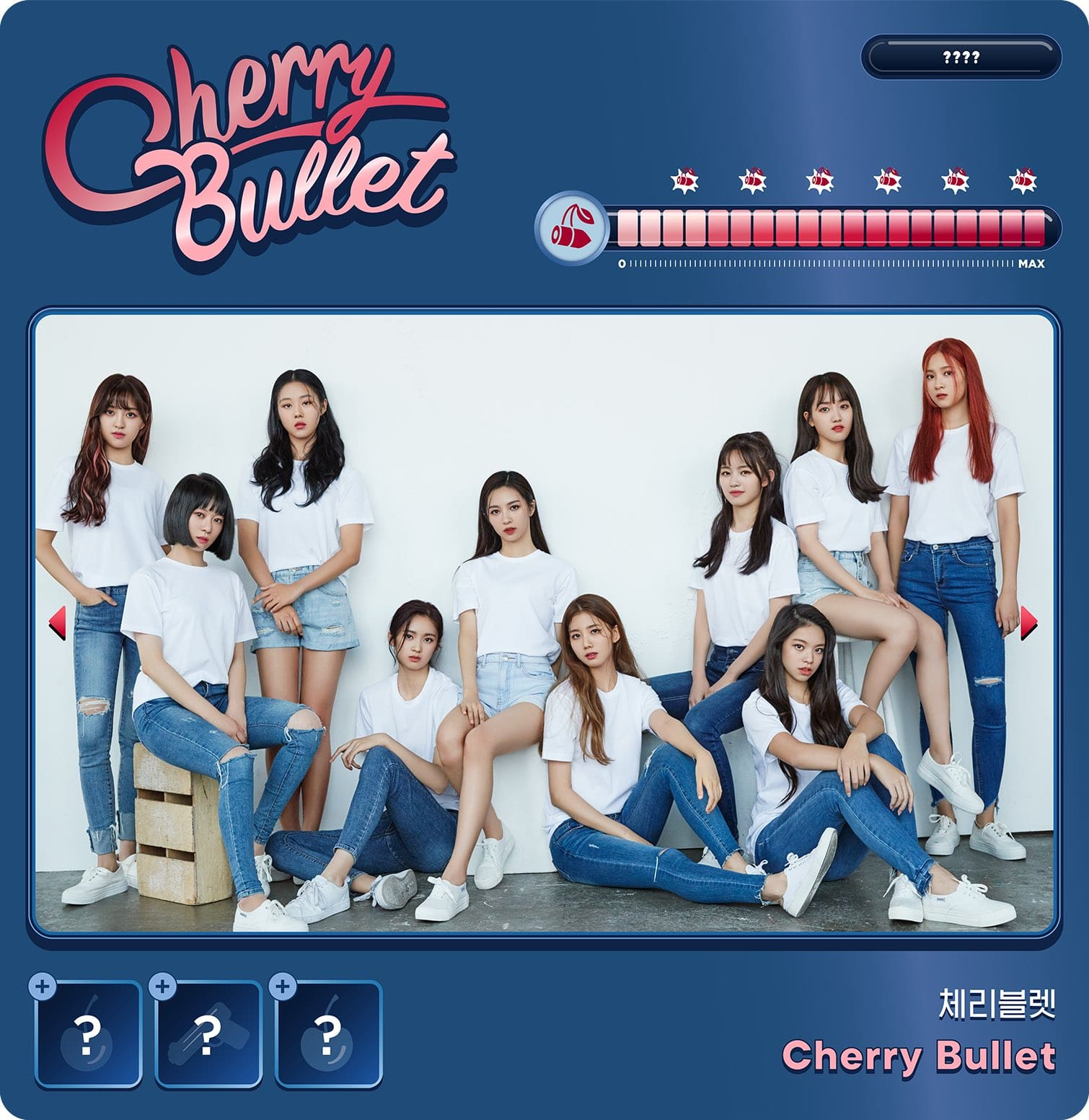 Update Fncs New Girl Group Cherry Bullet Unveils Group Photo Soompi