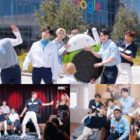 "Watch: MONSTA X Has Fun Behind The Scenes At Google HQ, ""When You Call My Name"" Filming, And More"
