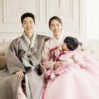 Lee Dong Gun And Jo Yoon Hee Are A Beautiful Family With Young Daughter In New Photo