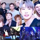 MONSTA X Shares Thoughts On Surprise Collaboration With The Chainsmokers At Jingle Ball