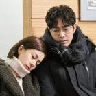 """Kang Ji Hwan Somberly Stares Down At Baek Jin Hee In """"Feel Good To Die"""""""