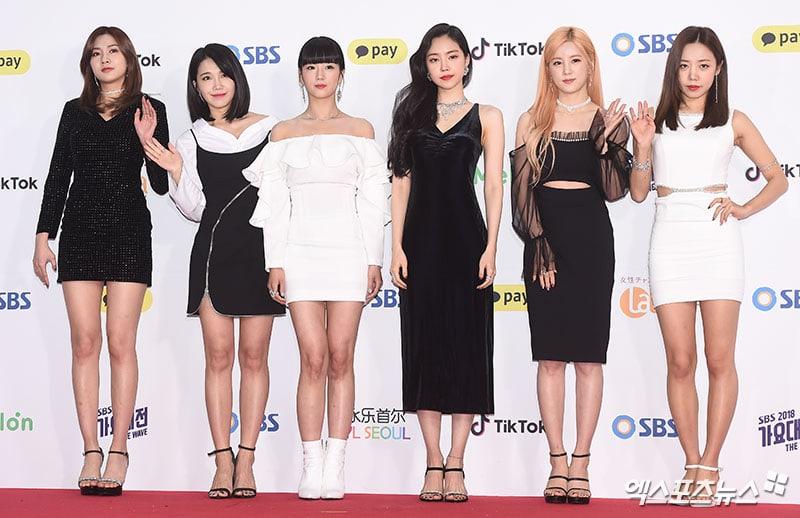 Apink di SBS Gayo Daejun 2018