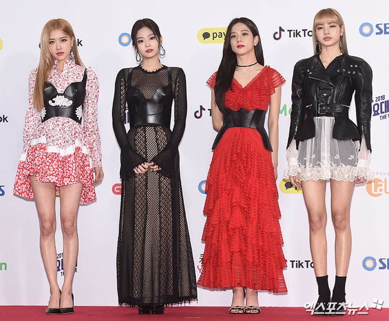 BLACKPINK di SBS Gayo Daejun 2018
