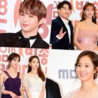 Stars Dazzle On Red Carpet For 2018 MBC Entertainment Awards
