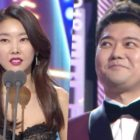 Han Hye Jin Expresses Love For Jun Hyun Moo During Award Acceptance Speech