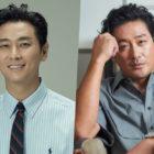 Joo Ji Hoon In Talks To Reunite With Ha Jung Woo In New Film