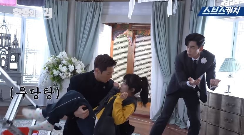 "Watch: ""The Last Empress"" Cast Can't Stop Laughing Behind The Scenes"