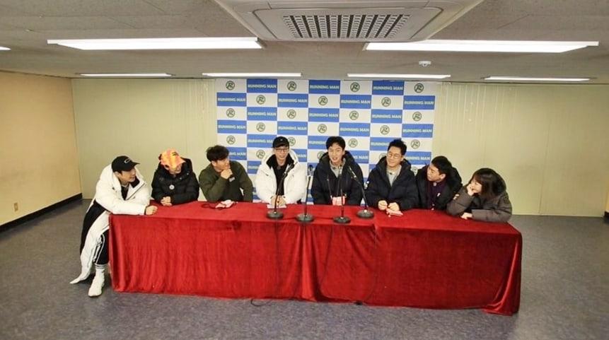 Dalam episode terbaru Running Man Yoo Jae Suk memberikan usulan nama couple untuk Lee Kwang Soo dan Lee Sun Bin (dok. SBS)