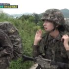 """Watch: MONSTA X's Shownu And WJSN's Eunseo Encourage Each Other On """"Real Men 300"""""""