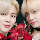 BTS's Jimin Gets Fans Excited About V's Self-Composed Track