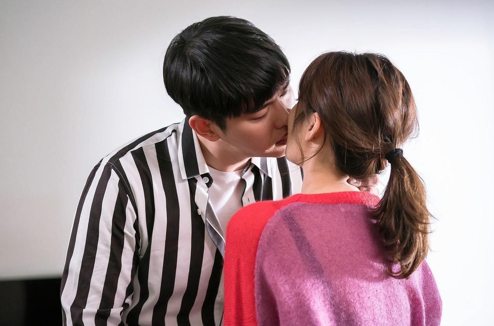 Yoon Kyun Sang And Kim Yoo Jung Share Tear-Filled Kiss On