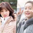 "Lee Yoo Ri And Uhm Ji Won Show Amazing Chemistry Behind-The-Scenes Of ""Spring Turns To Spring"""
