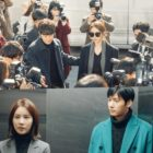 """Yoo In Na, Son Sung Yoon, And Lee Sang Woo Are Caught In Awkward Situations In """"Touch Your Heart"""""""