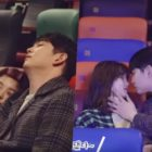 """Watch: Kim Yoo Jung And Yoon Kyun Sang Are Endearingly Awkward Behind """"Clean With Passion For Now"""" Kiss Scene"""