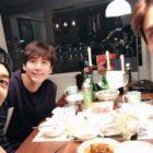 Super Junior's Kyuhyun Celebrates Birthday With SHINee's Minho And TVXQ's Changmin