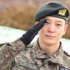 Joo Won Discharged From Military, Names His Favorite Girl Group