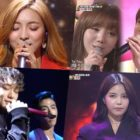 Watch: f(x)'s Luna, iKON's Bobby And Junhoe, Lovelyz's Kei And U-KISS's Jun, MAMAMOO's Solar, And More Perform Amazing Remakes Of '90s Hits