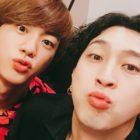 Sleepy Shares How BTS's Jin Sent Him A Sweet Message Of Concern