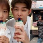 "Yoon Kyun Sang Shows Support For Former ""Doctors"" Co-Star Park Shin Hye At Her New Film Set"
