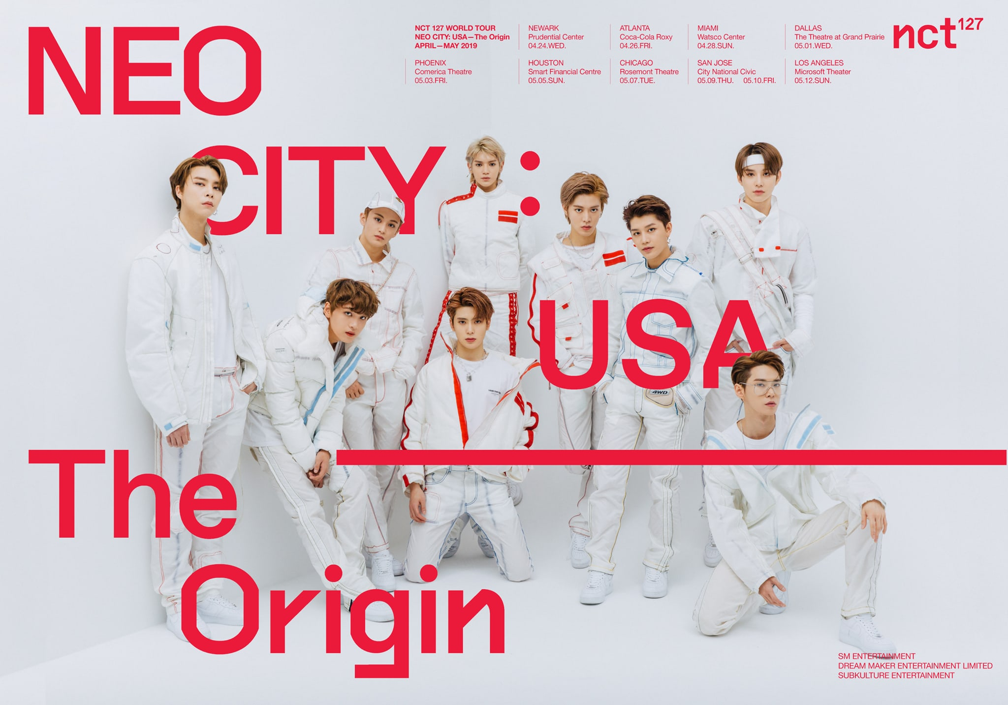 Image result for nct 127 north america tour