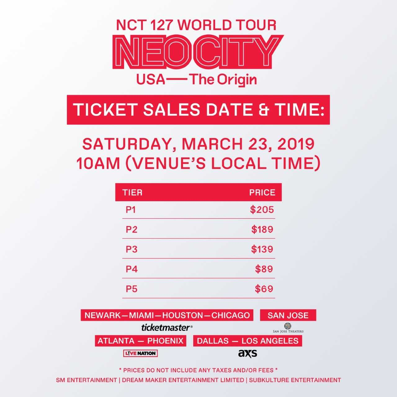 Update: NCT 127 Announces Singapore Concert Details For World Tour