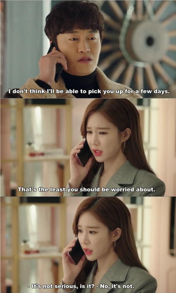 Hubungan antara Yoon Seo dan manajernya