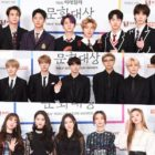 Stars Shine On Red Carpet At 6th Edaily Culture Awards