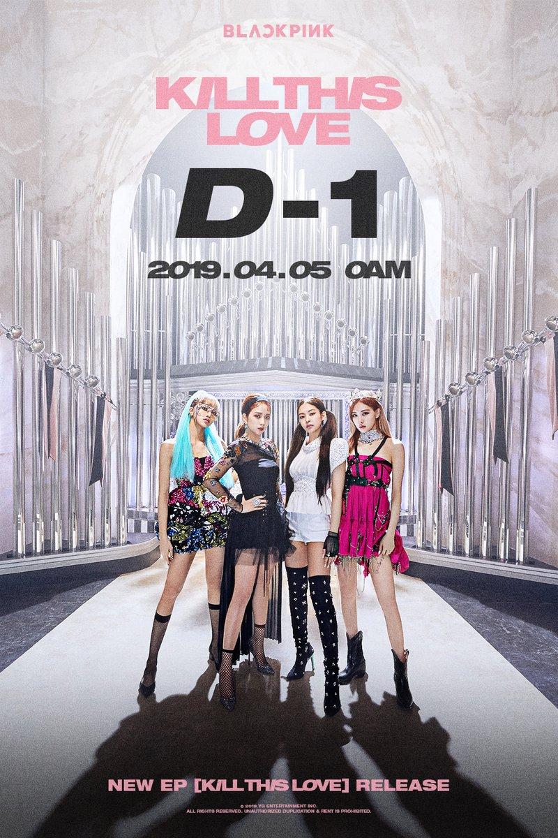Poster teaser BLACKPINK jelang comeback