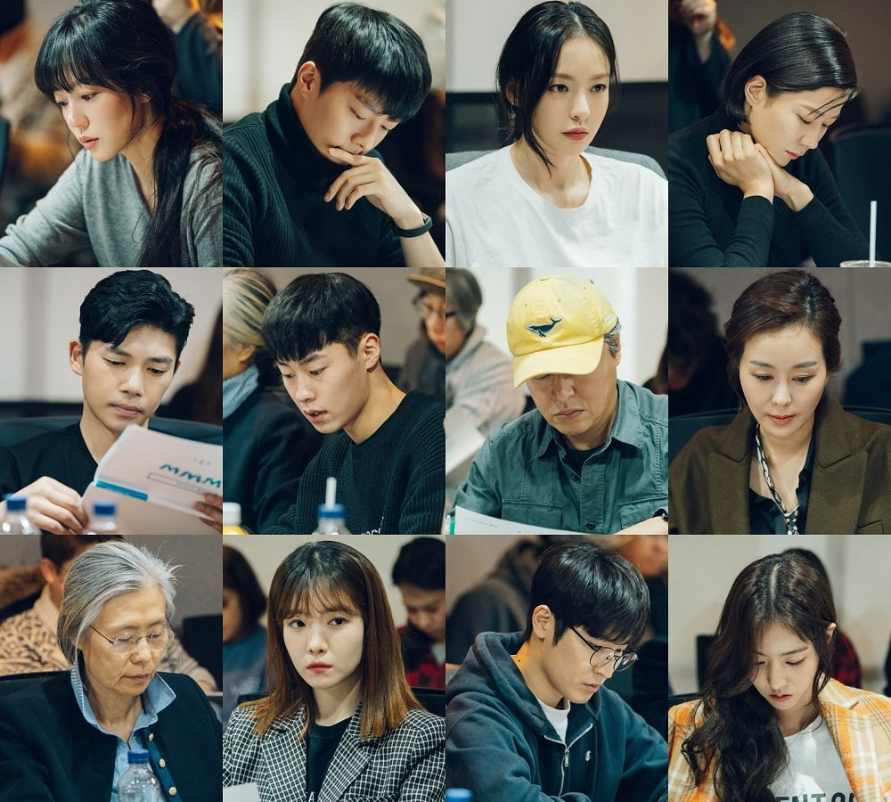 "1st Script Reading Of Upcoming tvN Drama ""WWW"""