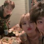B.A.P's Bang Yong Guk, EXID's LE, And DinDin Show Off Adorable Friendship