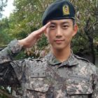 Watch: 2PM's Taecyeon Says Hi With Cute Live Broadcast During Break From Military