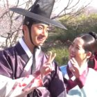 "Watch: Jung Il Woo And Go Ara Are Playful And Adorable Behind The Scenes Of ""Haechi"""