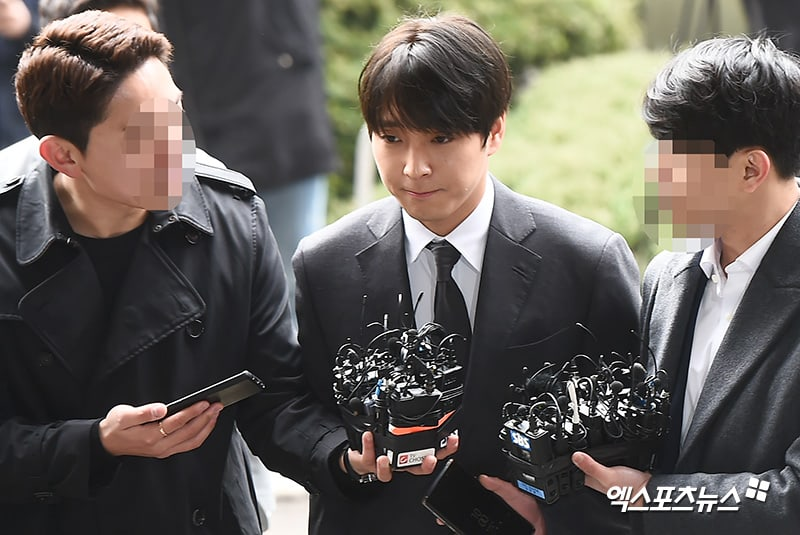 Watch: Choi Jong Hoon Arrives At Police Station For