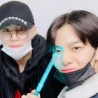 Wanna One's Ha Sung Woon and Bae Jin Young Reunite To Attend Taemin's Concert Together