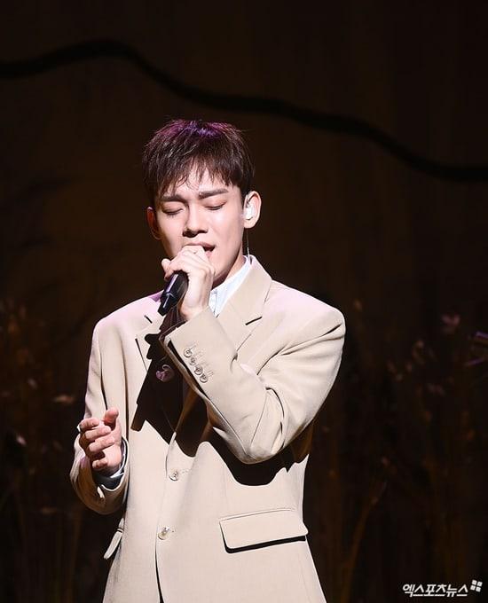 Chen merasa senang karena semua member EXO mendukungnya (dok. Xsports News)