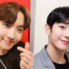 BTS's J-Hope Sends Sweet Support To Jung Hae In For His Fan Meeting
