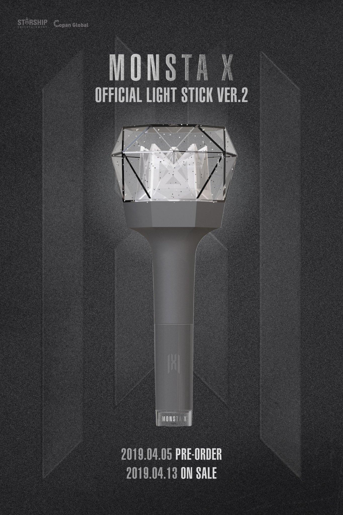 Monsta X Unveils Design For New Version Of Light Stick Soompi