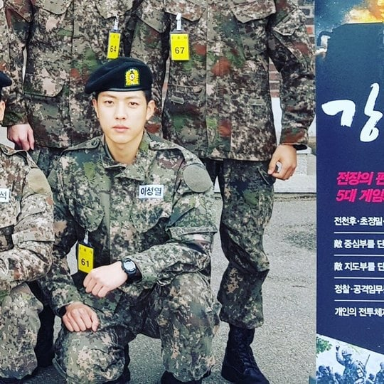 Image result for infinite sungyeol military