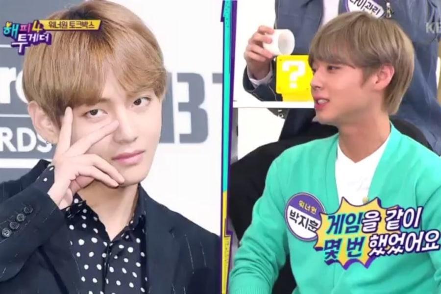 V BTS dan Park Ji Hoon