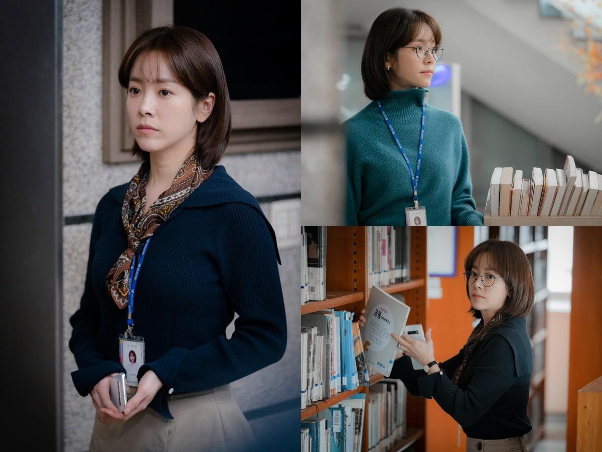"""Spring Night"" has shared its first stills of Han Ji Min"