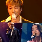 Watch: WINNER's Kang Seung Yoon, PENTAGON's Jinho And Hui, And WJSN's Yeonjung Take The Crowd Back To The '90s With Fresh Performances