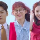 Watch: Kim Young Kwang, Jin Ki Joo, And Kim Jae Kyung Have Fun On A Trampoline In New Drama Teasers